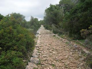 calzada romana ubrique benaocaz