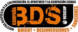 Campaña BDS - Boicot, Desinversiones y Sanciones