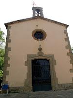 La façana principal de la Capella de Sant Marc