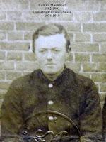 Soldaat oud-strijder/vuurkruiser Camiel Maenhout 1892-1993