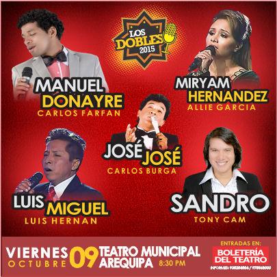 Los mejores imitadores de 'Yo Soy' en Arequipa - 09 de octubre