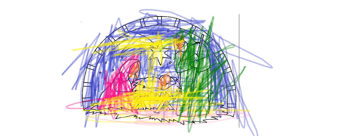 Mi blog pintado mor mi hermanita for Dibujos de navidad pintados