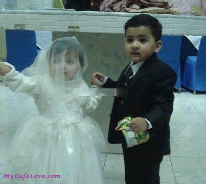 So cute baby married couple and nice thought