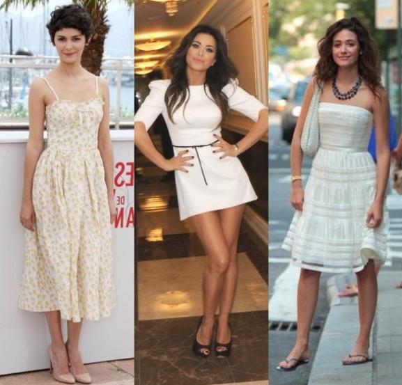 Сделать макияж под белое платье