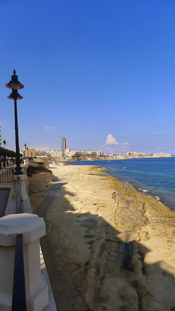 Malta's Beach in the Town
