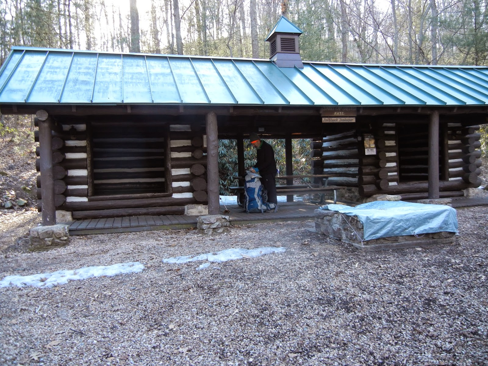 Doubt it. deer lick shelter on appalachian trail you the