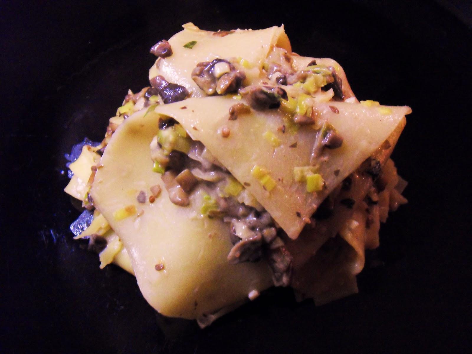 Diana's Cook Blog: Les lasagnes aux champignons et ...