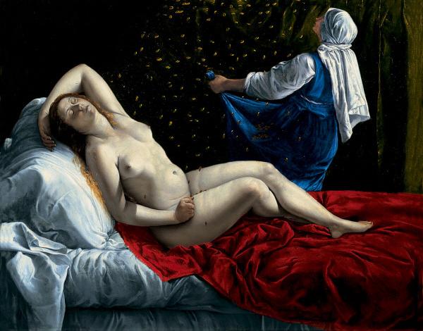 Artemisia Gentileschi, Danaë