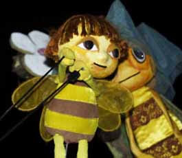 Maya the Bee puppet show