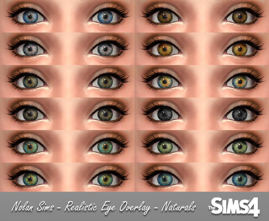 Realistic Eye Template Realistic Eye Overlay