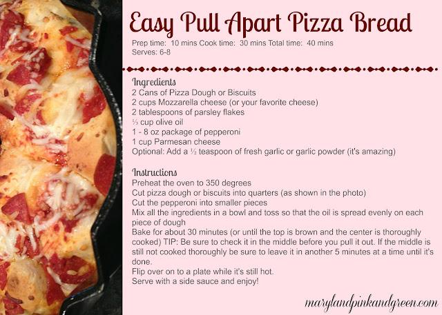 easy pull apart pizza bread recipe bundt pan