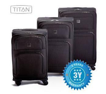 Dreiteiliges Kofferset Titan Brisbane I bei iBood für 88,90 Euro