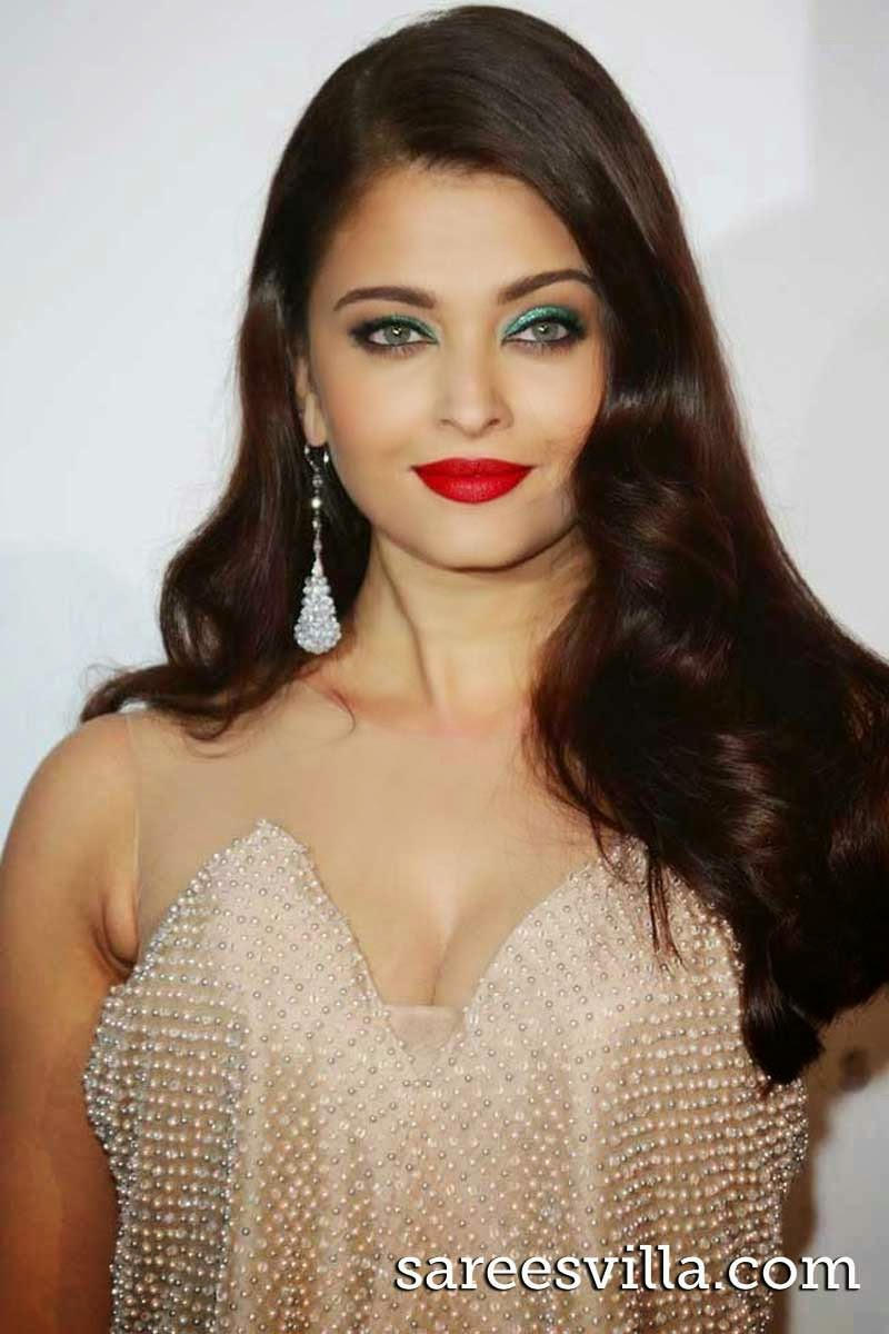 Aishwarya Rai Feather Hairstyle