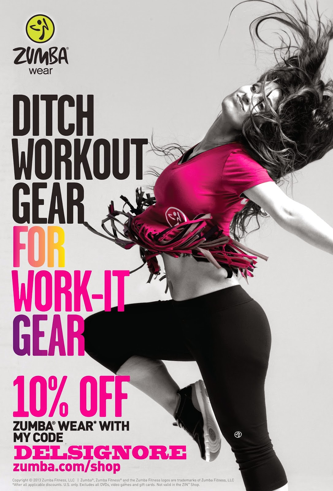 #letitmoveyou #ZIN #dance #zumba #discountcode #shopping #zumbaworks #dailydoseofdelsignore #fitness #workout