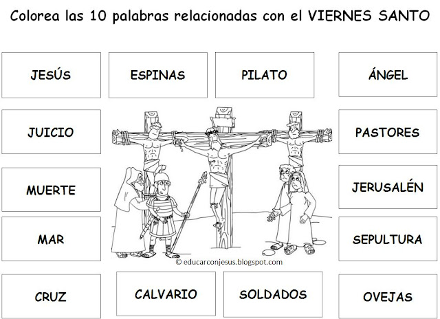 PALABRAS CON LI Colouring Pages