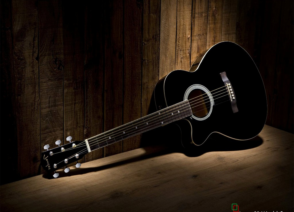 gallery for acoustic guitars background
