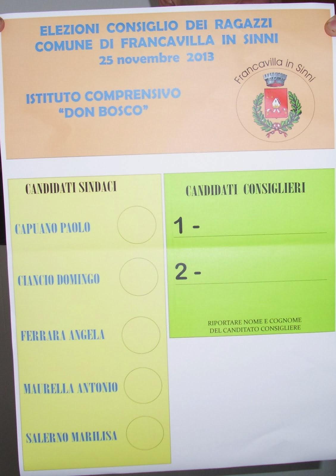 Il Consiglio Comunale dei Ragazzi 2013