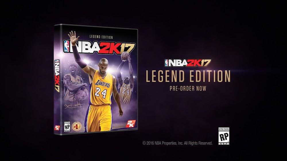 """NBA 2K17 """"Legends Live On"""" Trailer"""