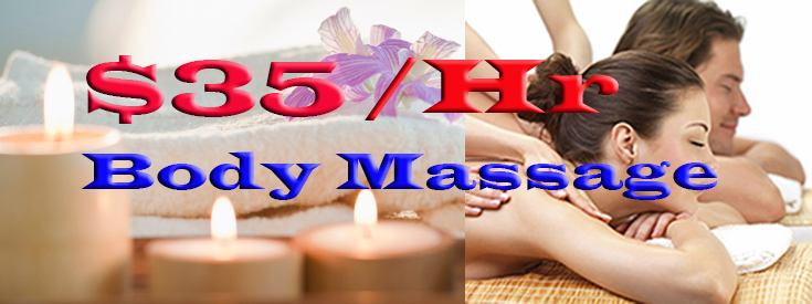 Cheapest Massage in New York. Visit us today.