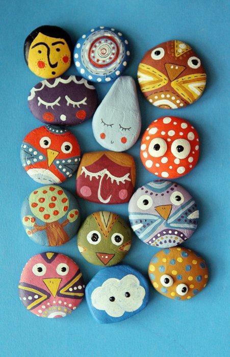 Las Ideas De Rodi Diy Piedras Stones - Manualidades-baratas