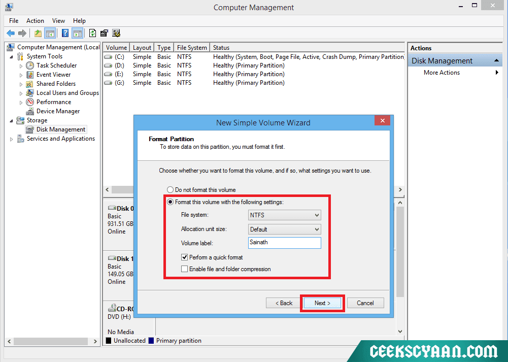free partition software