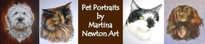 Pet Portraits by Martina Newton