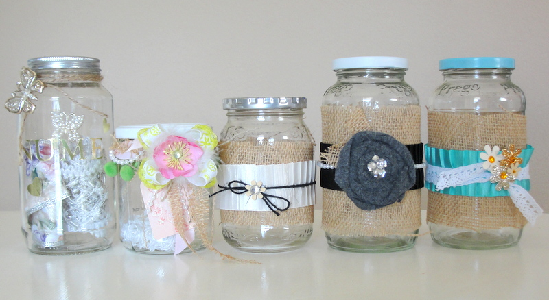 Little Lovables: Memory and Gratitude Jar Craft Tutorial