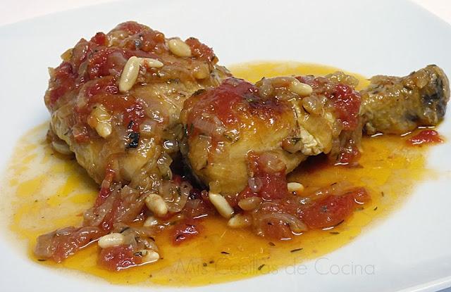 Pollo en salsa ...