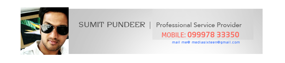 Sumit Pundeer | Designer and Printer in DEHRADUN
