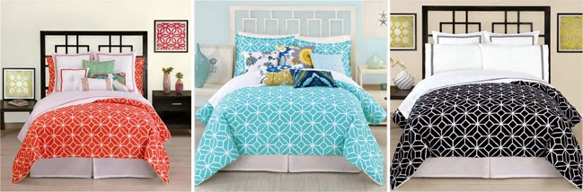 Ideal For those that are not working on painting or do not like pastels bold patterns are also very popular this season This means bold patterned bedding