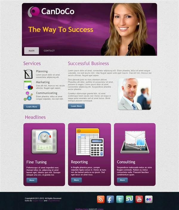 Can Do Company - Free Wordpress Theme