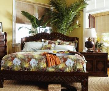 Hawaiian Bedroom Design Ideas
