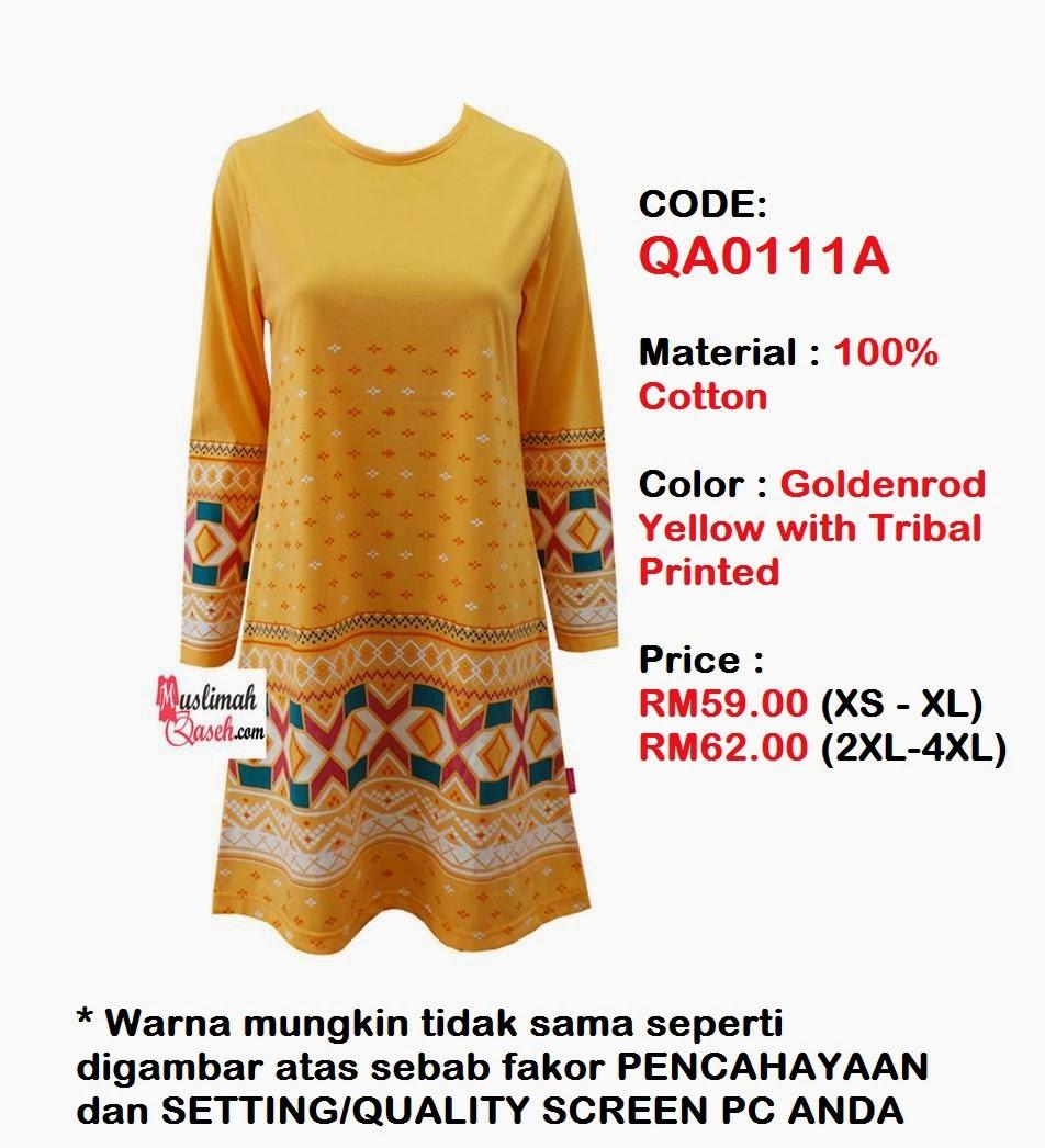 T-Shirt-Muslimah-Qaseh-QA0111A
