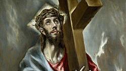 Cristo abrazado a la cruz, El Greco, Museo del Prado | Ximinia
