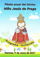 11.06.17 FIESTA AL NIÑO JESÚS DE PRAGA EN MANISES 2017