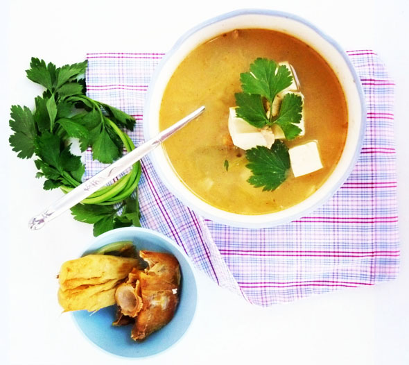 The Foodpecker Salted Fish Bone Soup With Silken Tofu