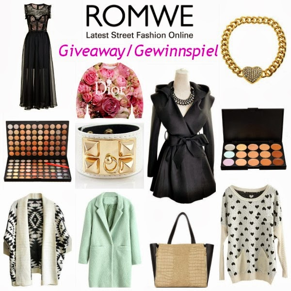 Giveaway Gewinnspiel: 2 x $30 at Romwe