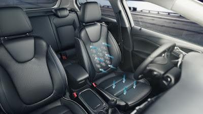 Νέα comfort seats προηγμένης μηχανολογίας από την Opel