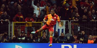 Didier Drogba'dan sevgilerle: Arena'da 100.gol..