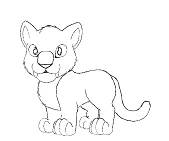 #13 The Croods Coloring Page