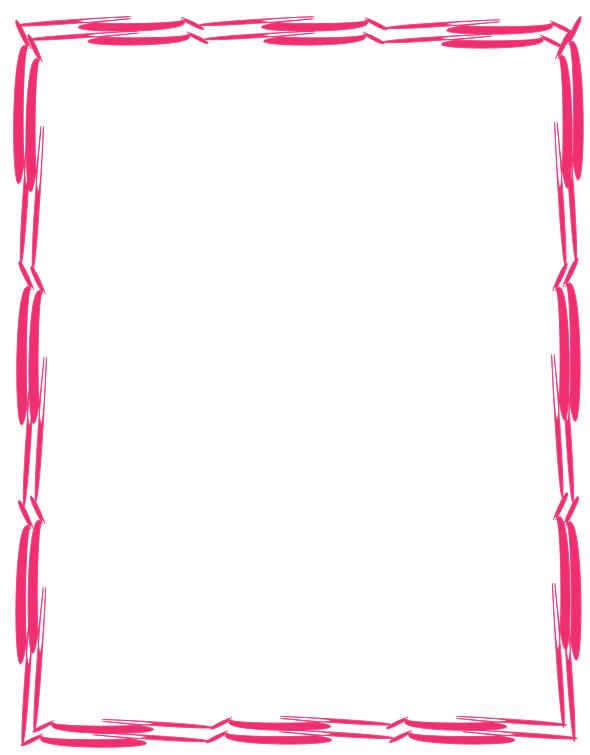 A mi manera borde de orillas rosadas bonito for Decoracion de paginas