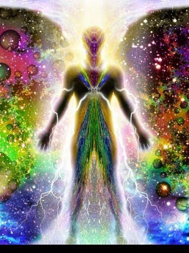 No estás hecho de agua y tierra, no eres de este universo giratorio.