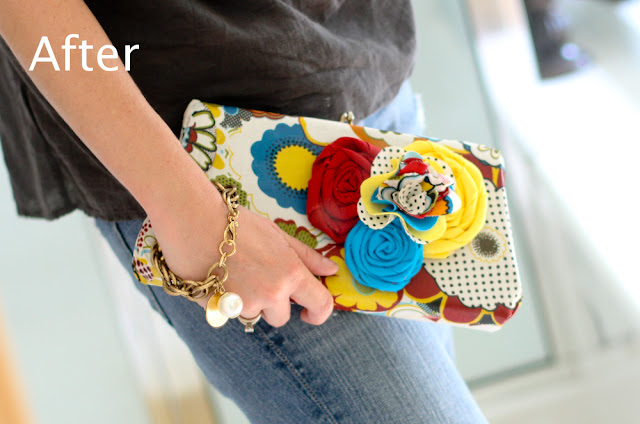 cute summer clutch tutorial