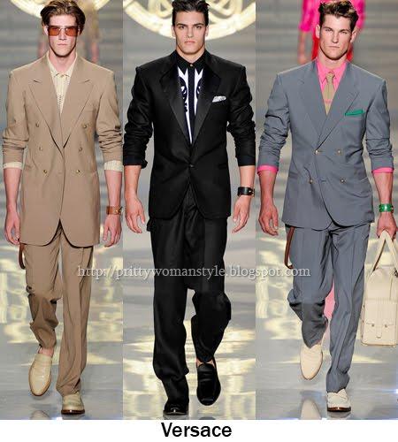 Versace мъжки костюми 2012