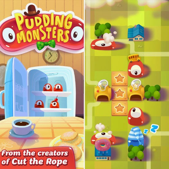 Pudding Monsters gratis en android, ios y facebook