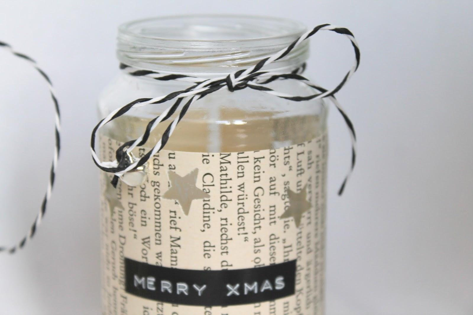 Teelichtglaeser Adventszeit