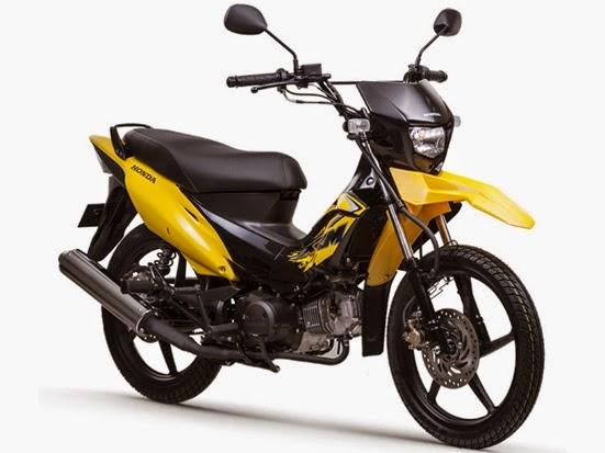 Honda XRM125 Motard Clipper Yellow