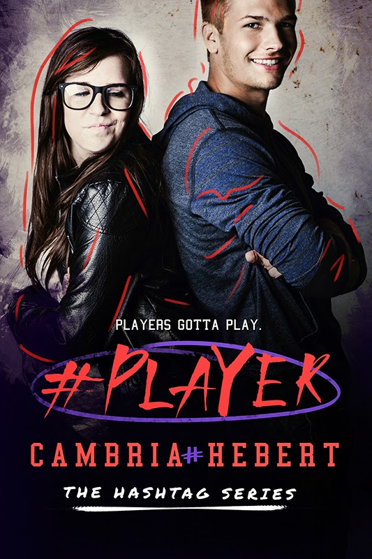 Cover Reveal: #Player by Cabria Hebert
