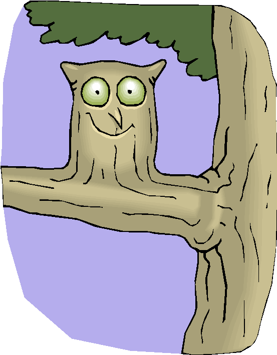 Funny Owl Free Clipart