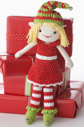 Crochet an Adorable Christmas Elf - Free Pattern